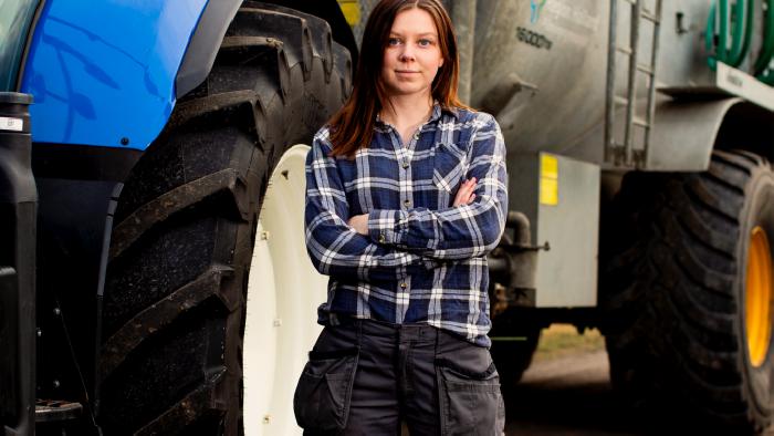 Emma Svensson vinnare årets landsbyggare kategori attityd