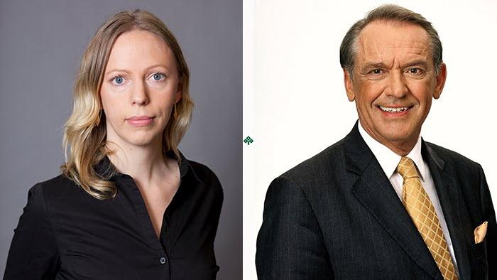 Hilda Runsten och Jan Eliasson är två av talarna på klimatkonferensen i Östersund 9-10 oktober.