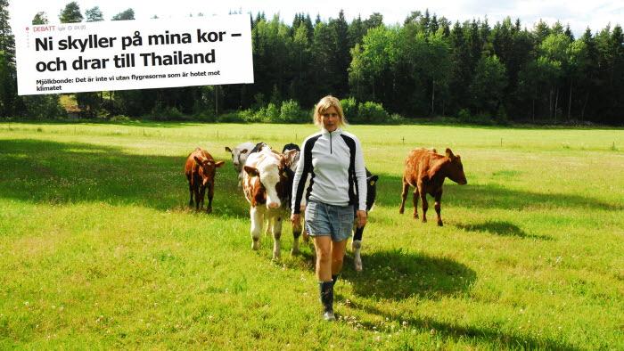 Anette Gustawssons debattartikel om kor och flyg var Sveriges mest delade iden 1 december