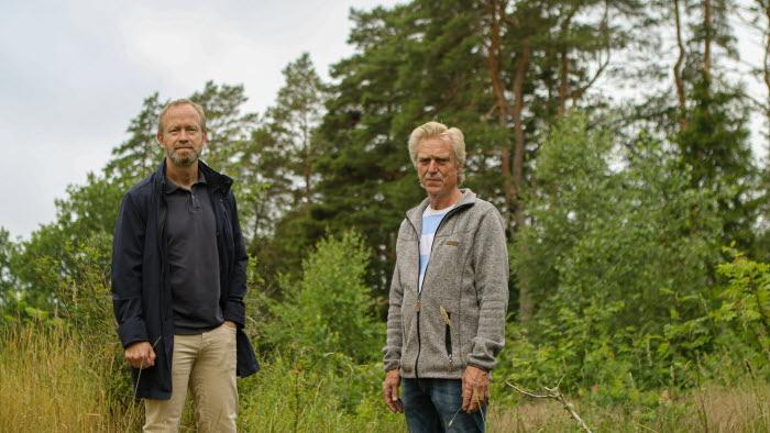 Martin Pardell och Sven-Erik Svanberg