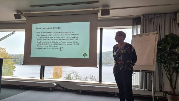 Josefina Guttman, Lidköpings kommungrupp, kvinna