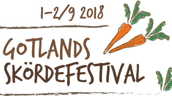 logga skördefestival gotland 2018