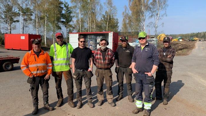 Skogsbrand i Hästveda