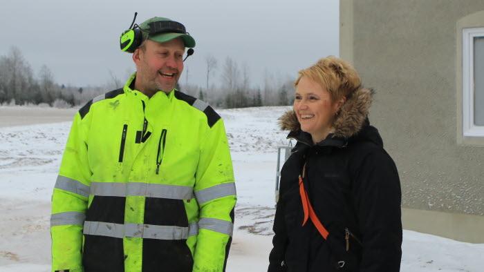 Johan Rydberg och Anna Karin Hatt