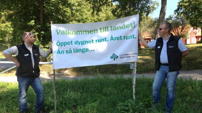 LRF på Harpsund i samband med budgetförhandlingarna