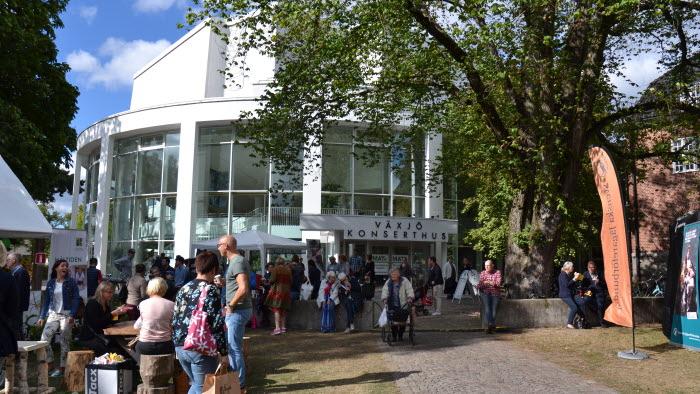 Konserthuset Växjö under MAT2017