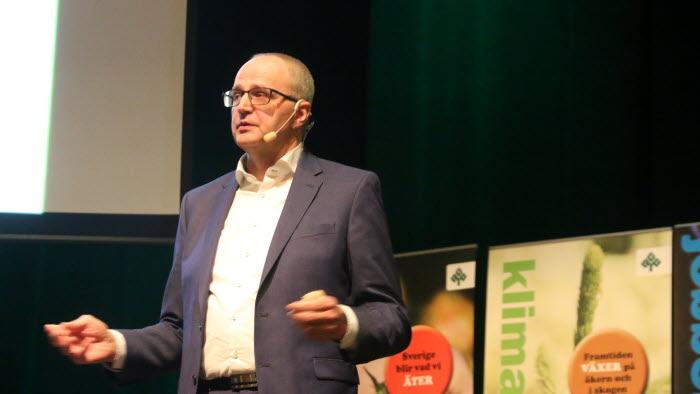 Palle Borgström på LRF VGs stämma 2018