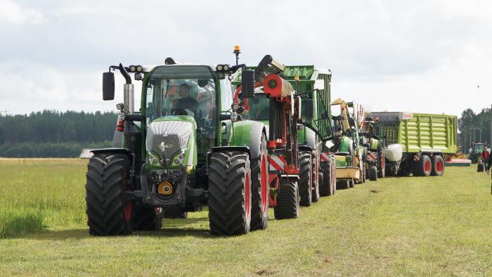 Maskinvisning Öjeby lantbruksmässa