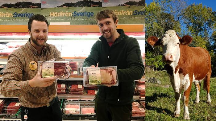 Premiär för naturbeteskött i butik