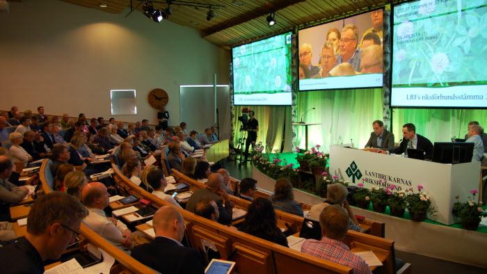 LRFs stämma på Sånga-Säby