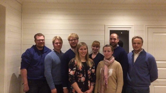 Ungdomsstyrelsen Östergötland  efter årsmötet 23 nov 2017