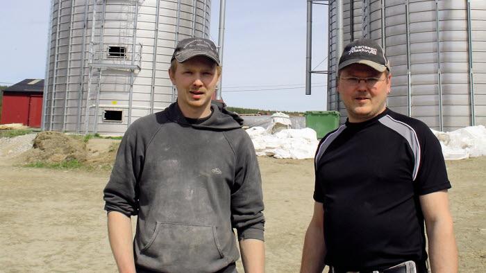 Thomas och Mattias Nilsson, Kulbäckslidens lantbruk.