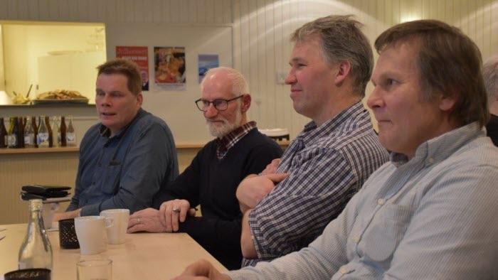 Olle Göransson, Anders Lundmark, Per-Olov Ålander, Torbjörn Olsson