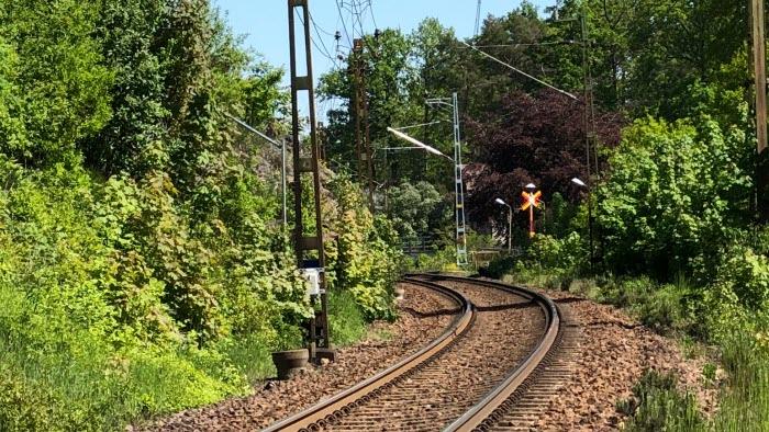 Järnväg utanför Borås