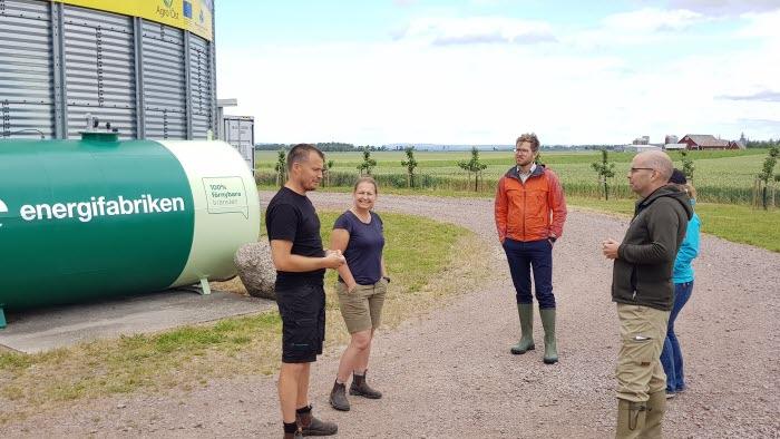 Kasta länsmansgård, Energifabriken, landshövdingen på besök 30 juni 2020