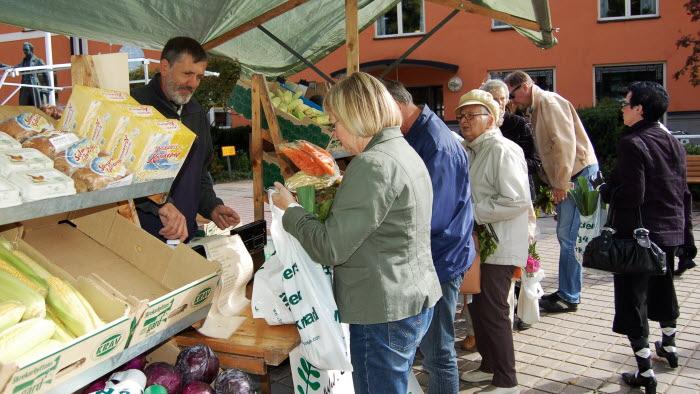 Bondens egen marknad i Växjö