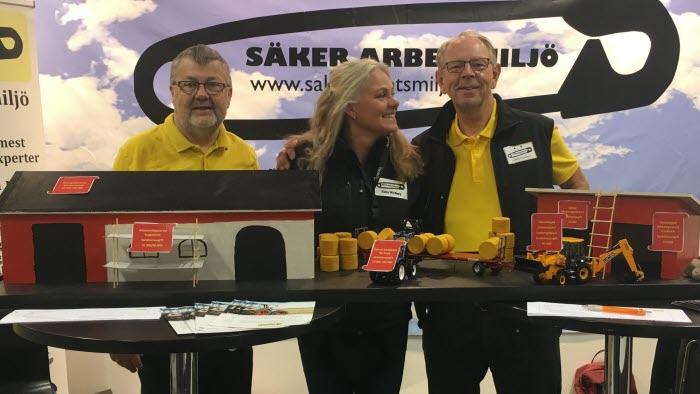 Torsten Ivarsson, Petra Wirtberg, Anders Danielsson