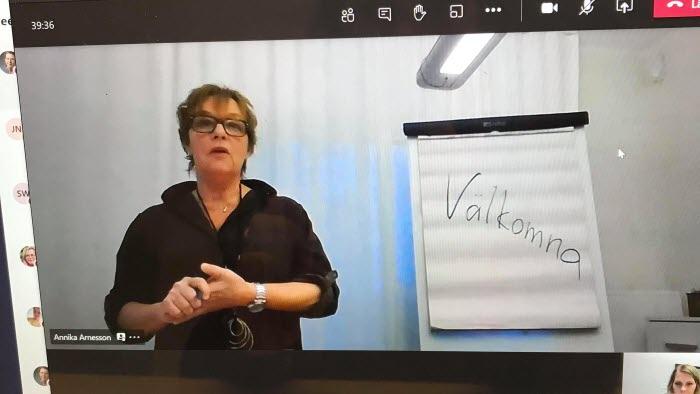 Annika Arnesson leder kurs i motionsskrivning 2021