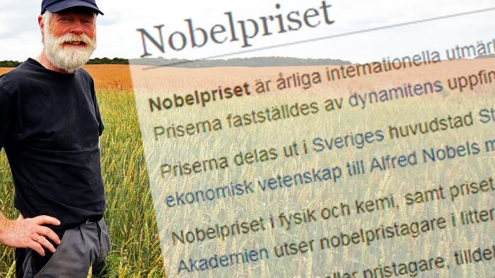 Nobelpriset till bönderna
