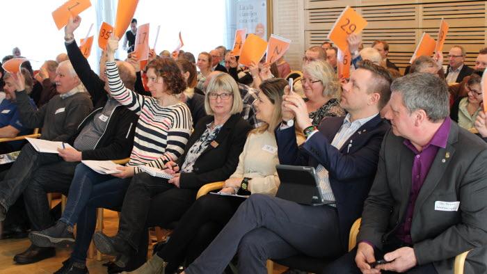 Stämma i Dalarna 2018, Falu Gruva, Votering