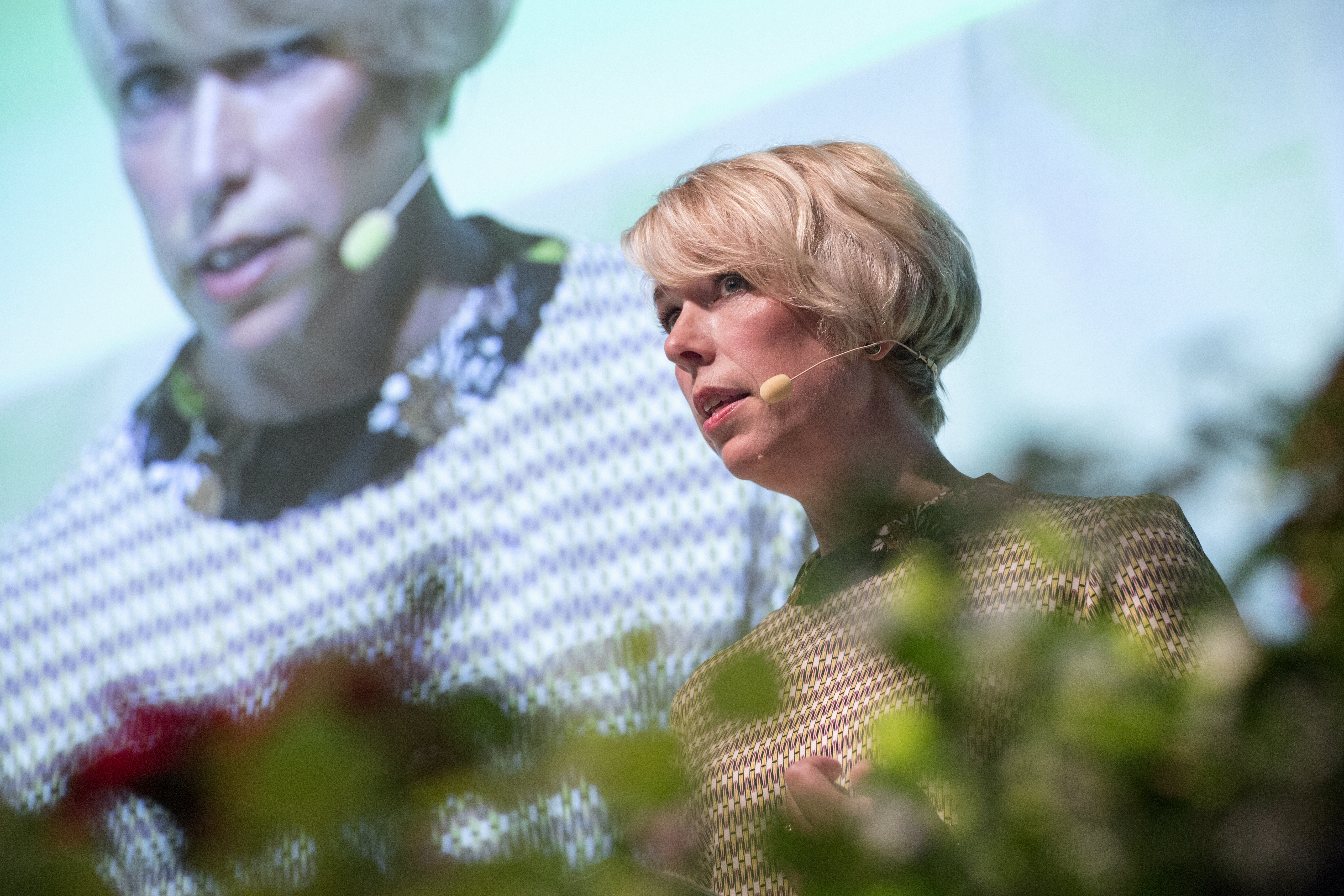 Helena Jonsson stämmotalar på LRFs riksförbundsstämma 2016