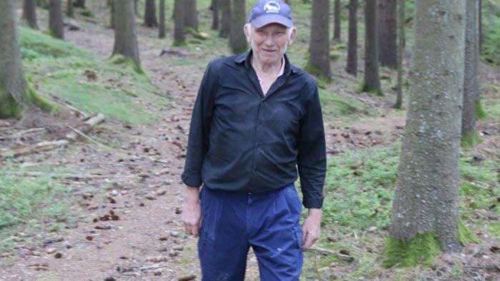 Sune Hjerpe Gusseröd skog utomhus