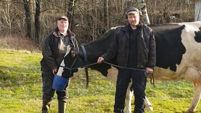 Guldmedaljör 2020 Tamar och Peter Larsson från Bohuslän