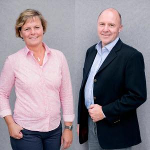 Åsa Odell och Sven-Erik Hammar tight