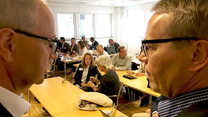 Palle Borgström och Thomas Bertilsson bjöd in till högnivåmöte angående torkan 2018
