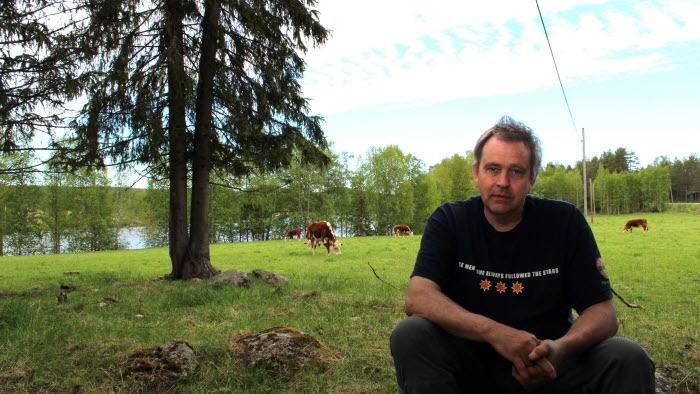 Gunnar Liljebäck, Överkalix, Årets nötköttsföretagare Norrbotten 2017