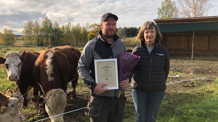 Årets nötköttsföretagare i Dalarna, Johan Persson