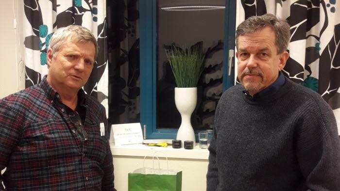 Christer Wennerberg och Anders Wetterin