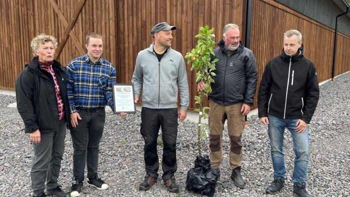 Prisutdelning Årets Nötköttsföretagare - Klas Anders Haglund