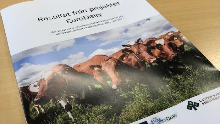 Resultat från Projektet EuroDairy framsida