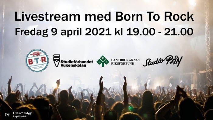 Livestream med Born To Rock