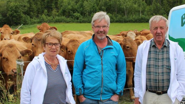 Årets nötköttsföretag Västerbotten. Lundgrens lantbruk