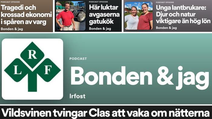 LRF Östs podd Bonden & jag har 12 nya avsnitt