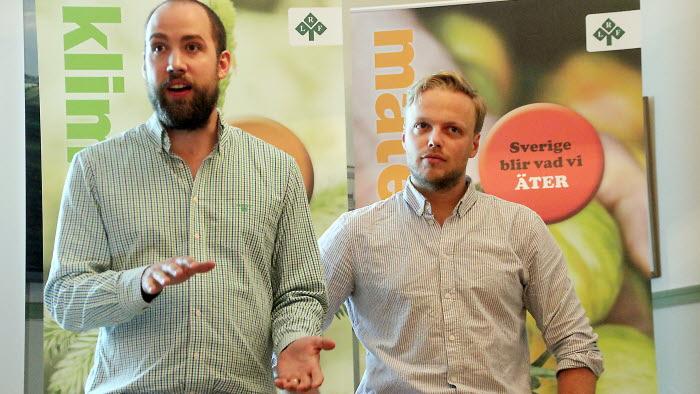 Arvid Pettersson talade om om engagemang
