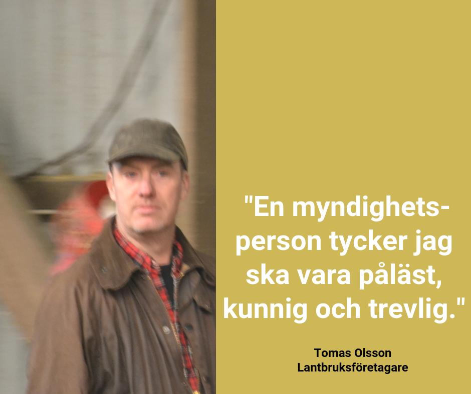 God myndighetsutövning - bild till Facebook, Tomas Olsson