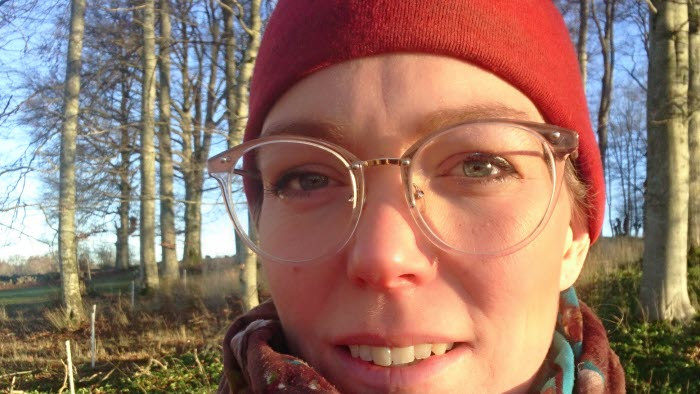 Sara Wallemyr, lantbruksföretagare från Falköping