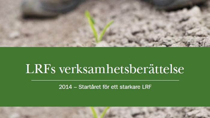 LRF Verksamhetsberättelse 2014