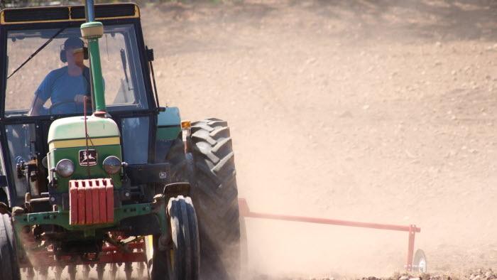 Traktor sår