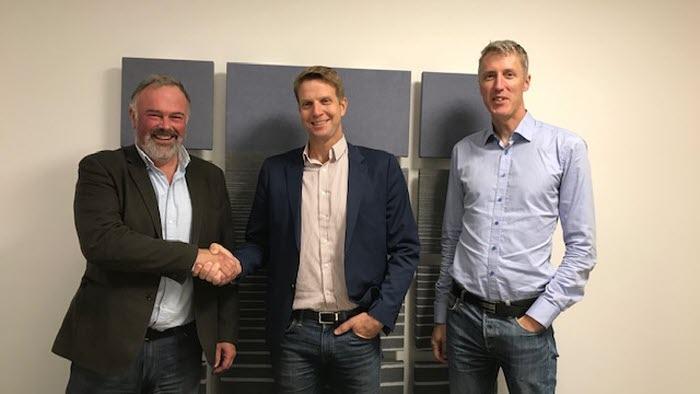Patrik Ohlsson, Thomas Brunzel och Erik Evestam