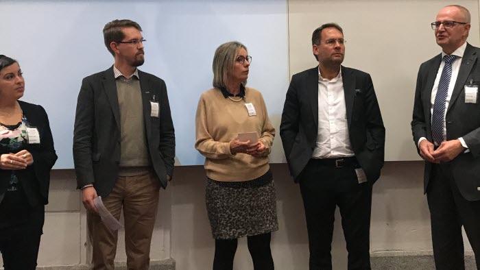 LRF arrangerade ett riksdagsseminarium om bredbandsutbyggnad på landsbygden tillsammans med Svenska Stadsnätsföreningen, Hela Sverige Ska Leva och Byanätsforum.