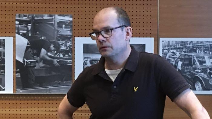 Christer Jansson på årsmöte med Stödföreningen för småskalig vattenkraft i Trollhättan april 2018