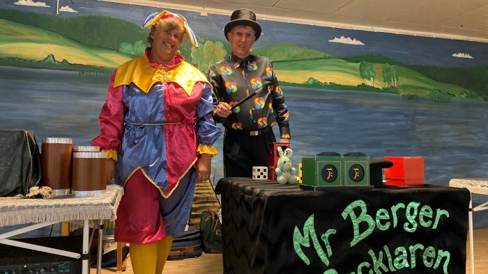 Mr Berger och Gycklare Ann