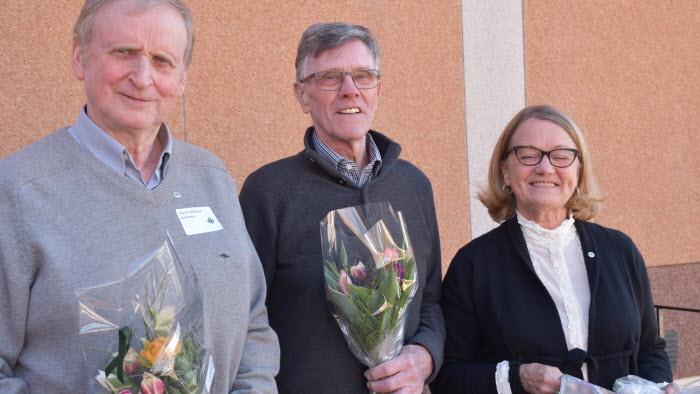 Olov Fredriksson, Börje Andersson, Maria Lindqvist