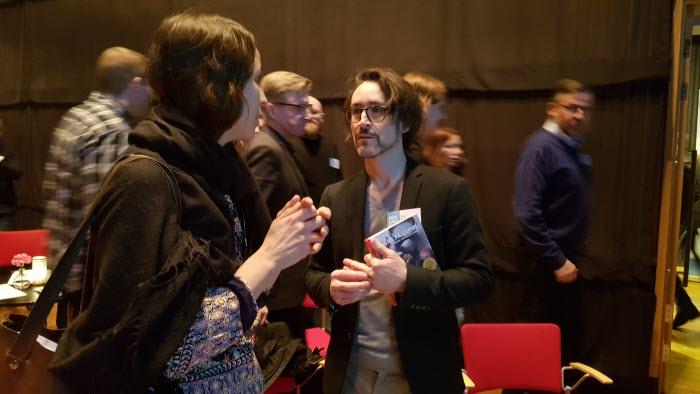 Eric Persson, Crossover Creative, restaurangevent i Luleå