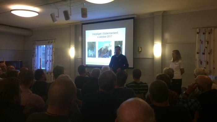 Möte om vargfrågor den 4 oktober 2017 i Flodafors