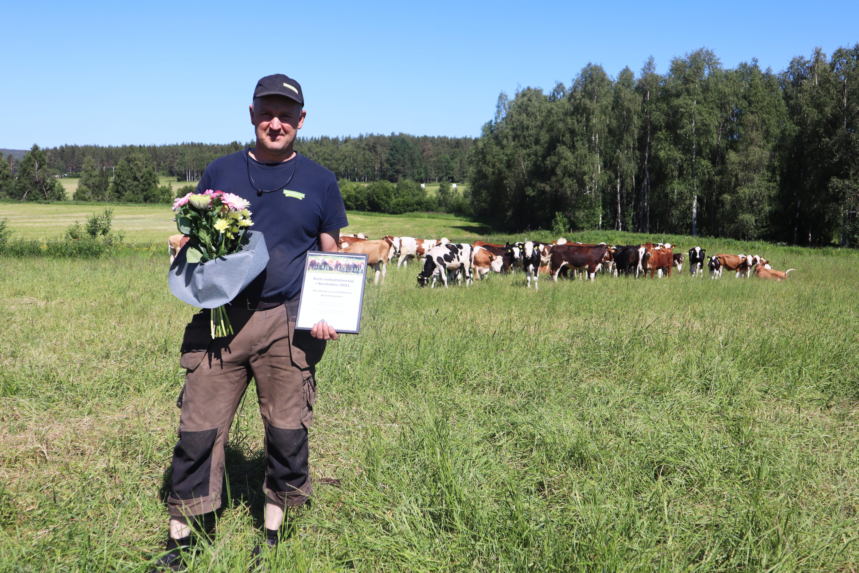 Årets nötköttsföretag 2021 Norrbotten Nils-Olof Rehnman Blomfeldstgården